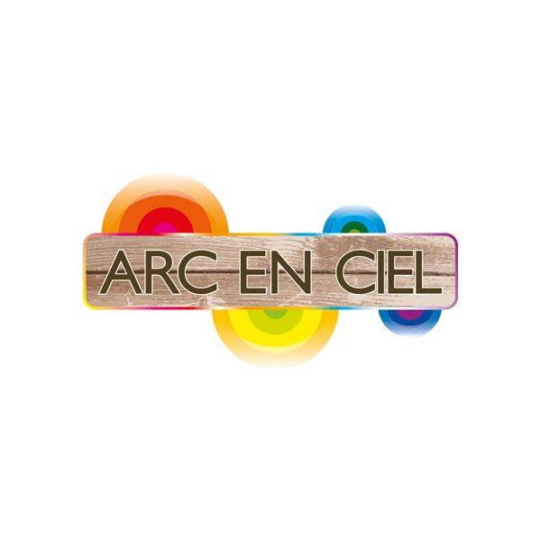 Plage l'Arc en ciel - Création logo Dreampix communication Antibes