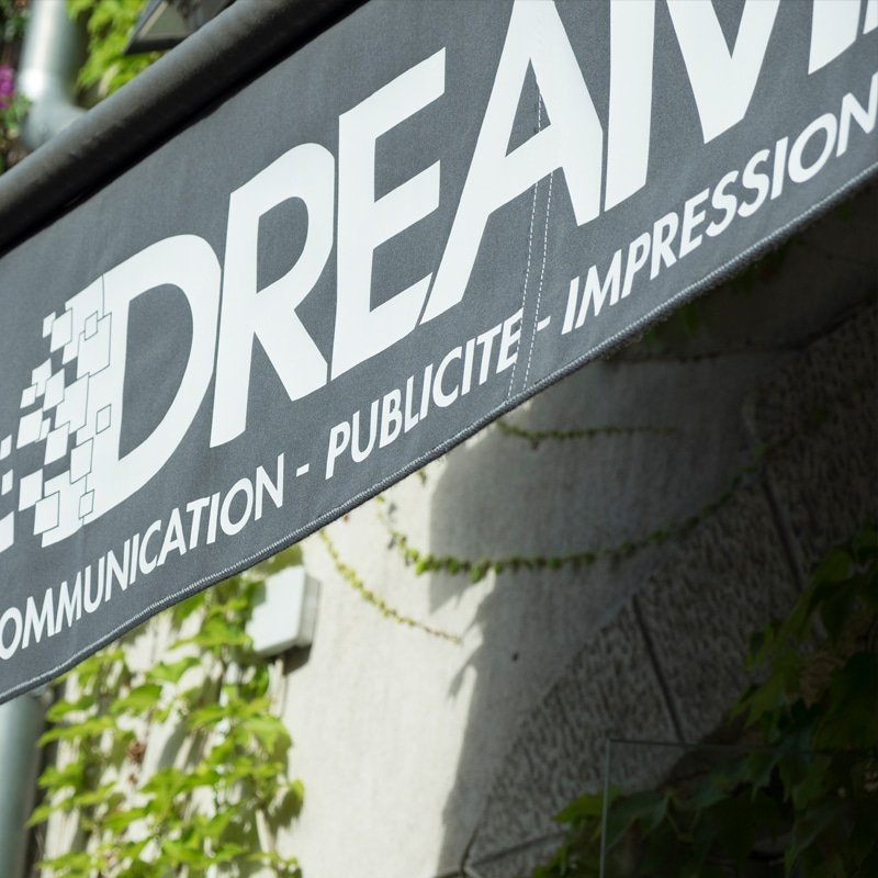 Signalétique par Dreampix Communication Antibes