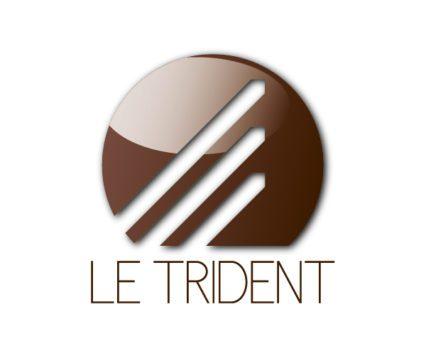 Le Trident - Création logo et identité visuelle par Dreampix Communication à Antibes