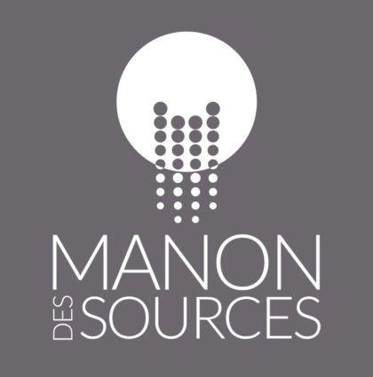 Création logo Manon des Sources par DreamPix communication