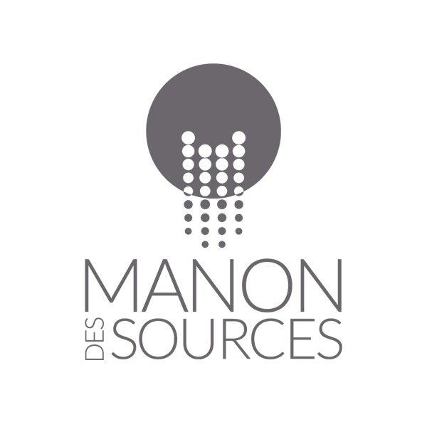 Manon des Sources Biot - Création logo et identité visuelle par Dreampix Communication à Antibes