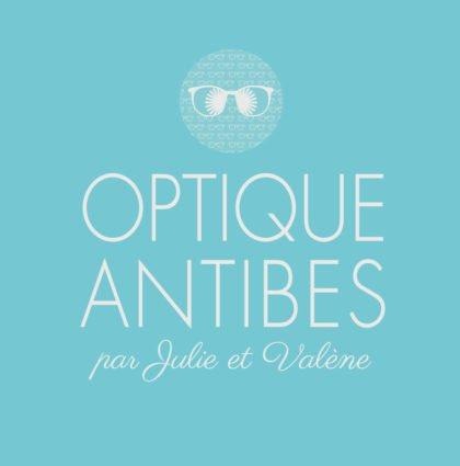 Création logo Optique Antibes par DreamPix communication