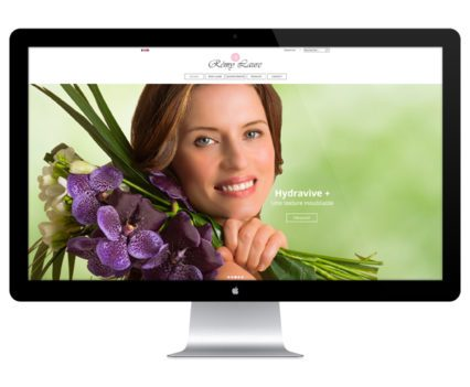 Création site Internet Rémy Laure par Dreampix communication Antibes