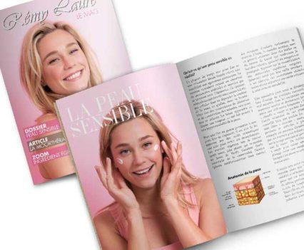 Création impression magazine Rémy Laure mini-mag A5 - Dreampix communication Antibes - Dreampix Antibes