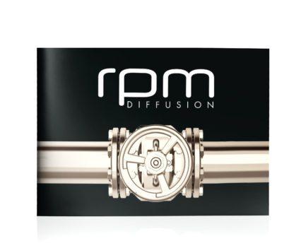 RPM diffusion - Création graphique et impression de brochure Dreampix communication Antibes