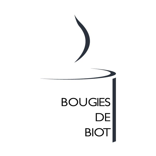 Création de logo et identité visuelle Bougies de Biot - Dreampix communication Antibes
