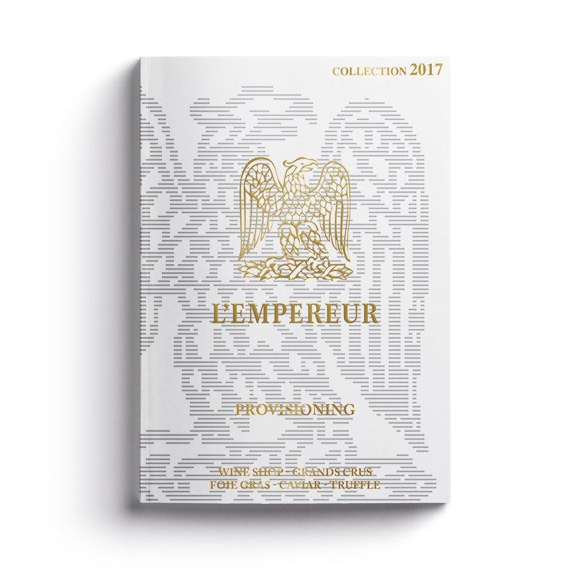 Création et impression catalogue Cave L'Empereur - Dreampix communication Antibes