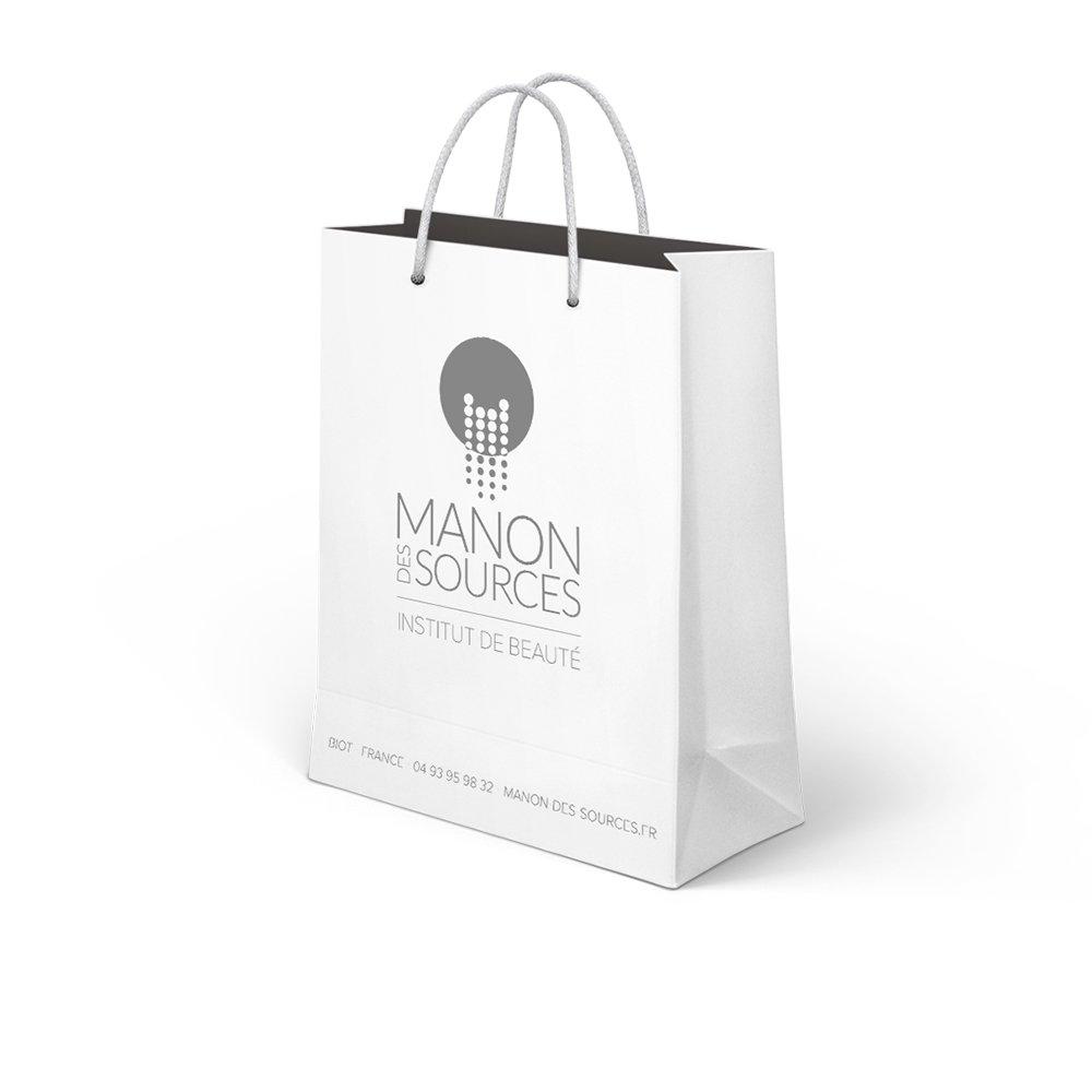 Manon des Sources - Création graphique - Packaging sacs - Dreampix Communication Antibes
