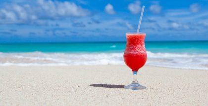 Cocktail au bord de la mer