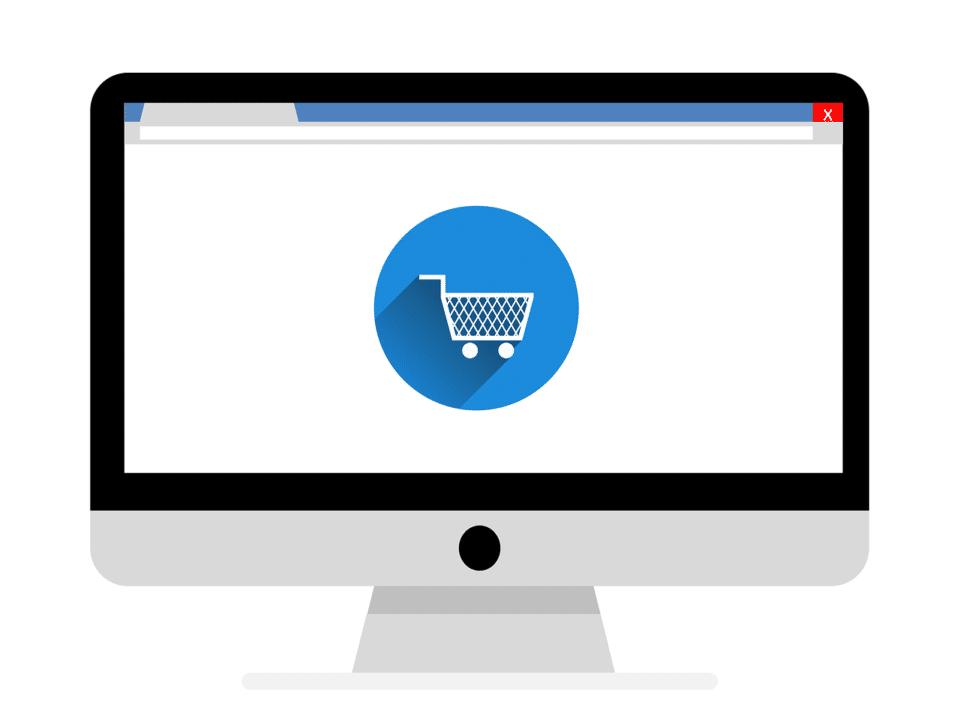 Panier site web e-commerce