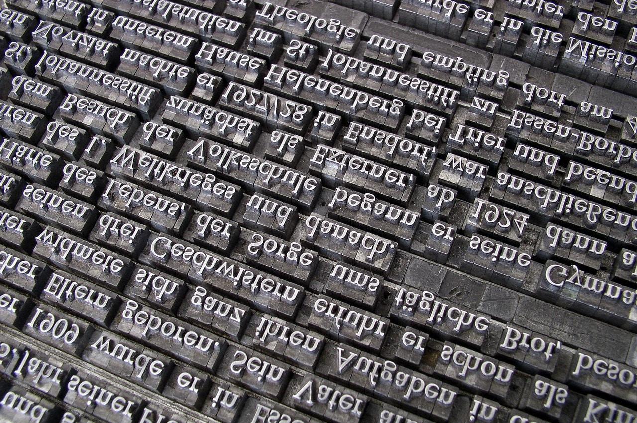 La typographie, qu'est-ce que c'est ?