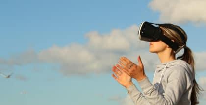 Nouvelles technologies - masque réalité virtuelle