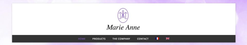 Marie Anne France - Site Internet catalogue - Dreampix Antibes