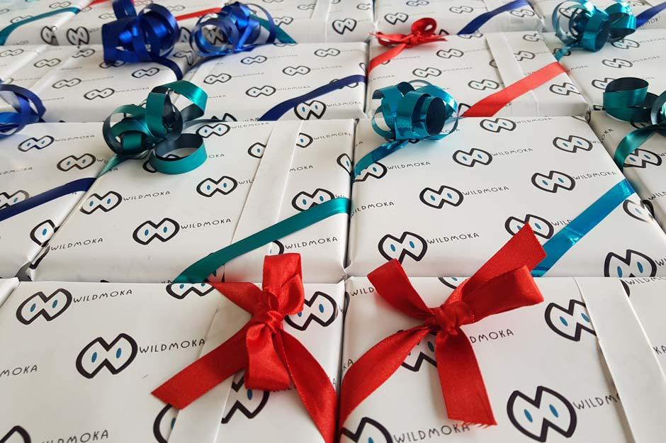 Papier cadeau personnalisé Wildmoka par Dreampix