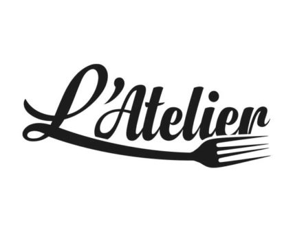 L'Atelier restaurant Mougins - Création logo DreamPix communication Antibes