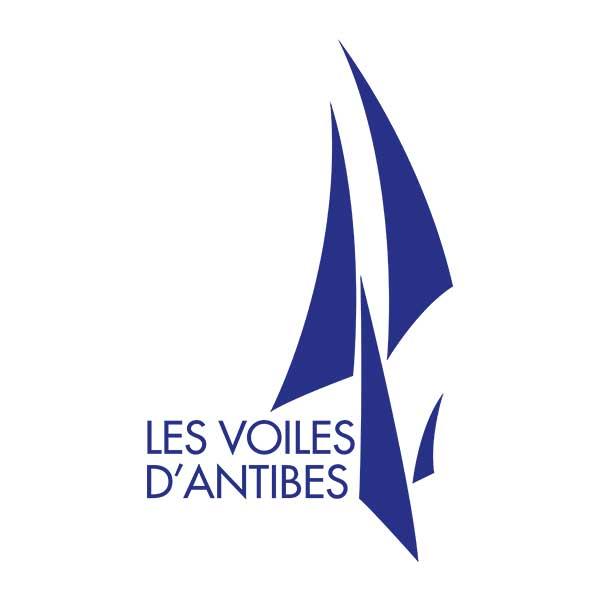 Création logo Les Voiles d'Antibes - DreamPix communication Antibes