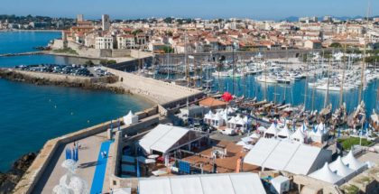 Photographie drone Voiles d'Antibes 2018 - DreamPix communication