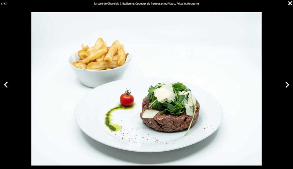 Photographie culinaire pour site web - DreamPix communication Antibes