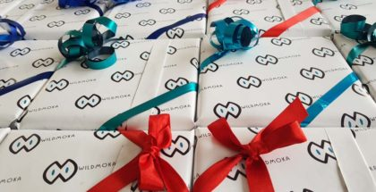 Papier cadeau personnalisé par DreamPix communication Antibes