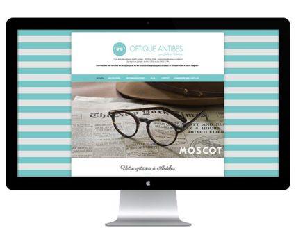 Site Internet Optique Antibes par DreamPix