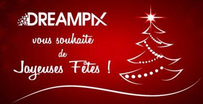 DreamPix vous souhaite de joyeuses fêtes !