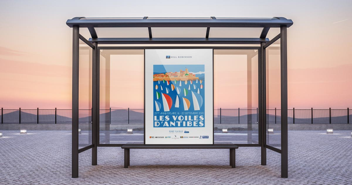 Impression d'affiches grands formats et mobilier urbain