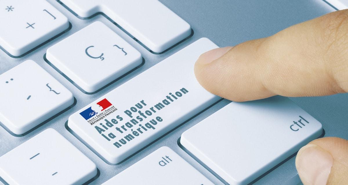 500€ d'aide pour créer votre site Internet
