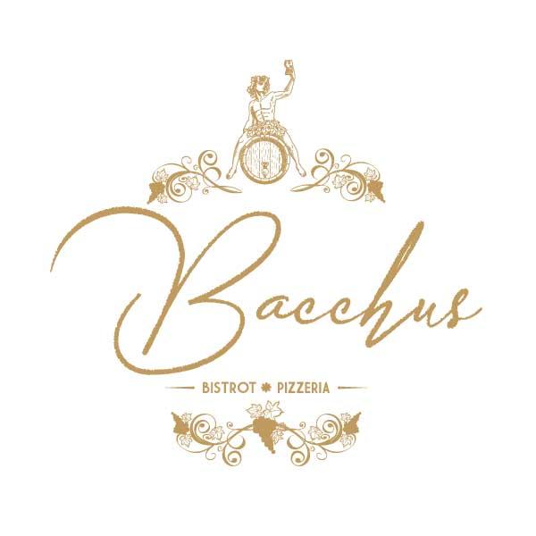 Création logo Le Bistro de Bacchus Antibes – DreamPix communication Antibes