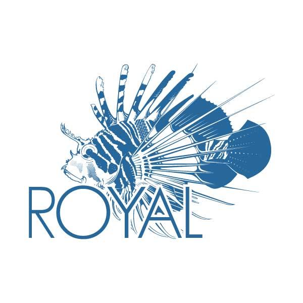Création logo Le Royal Antibes – DreamPix communication Antibes