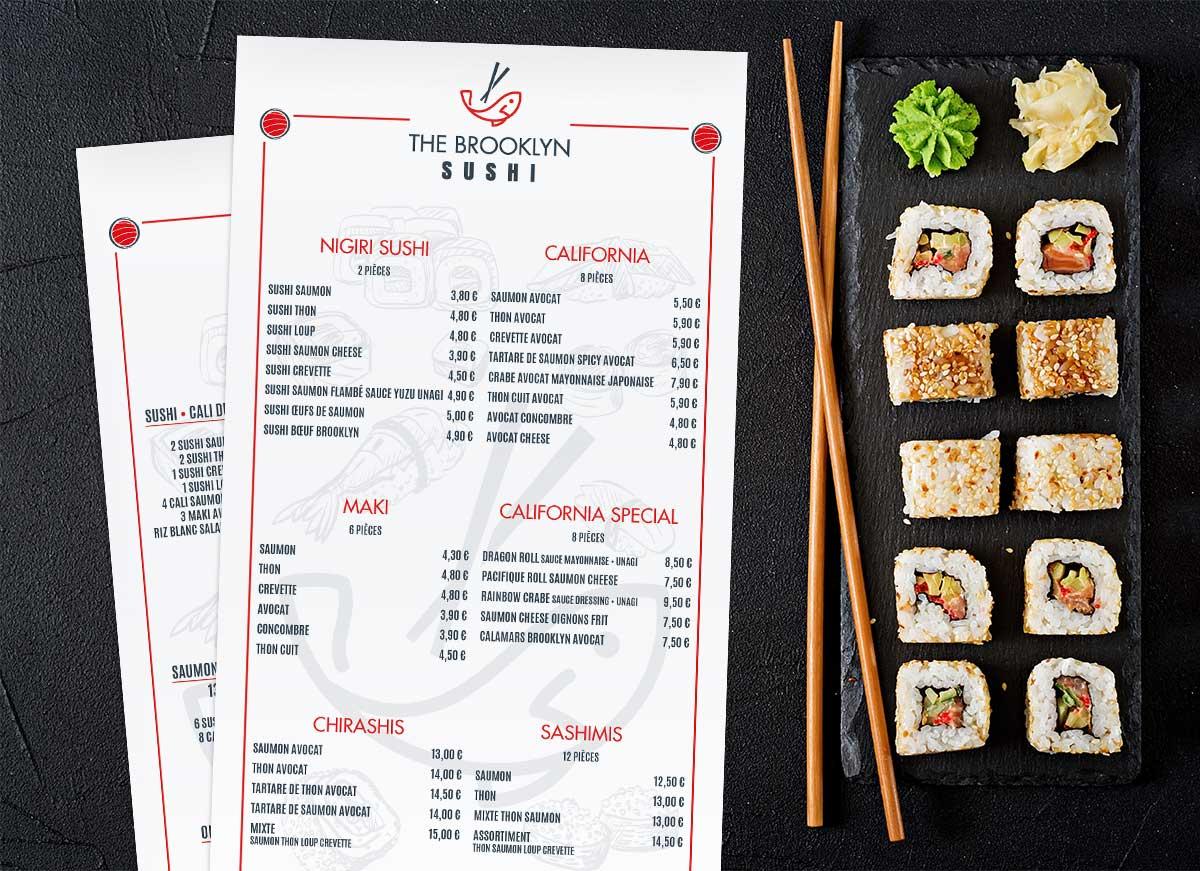 Bienvenue au Brooklyn Sushi!